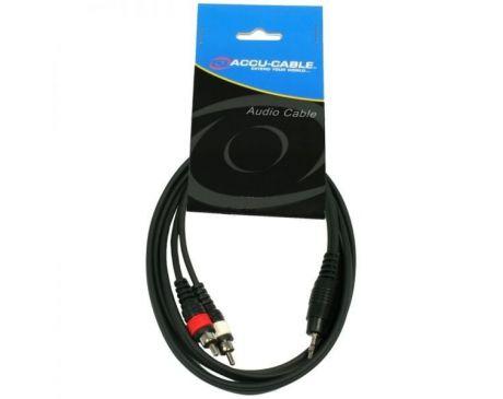 Kabel 2x RCA - JACK 3,5mm 3m