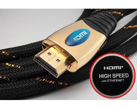 Kabel HDMI - HDMI Ver 1.4 HIGH SPEED ETHERNET 3m
