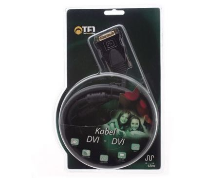 Kabel DVI - DVI 1,8m TF1
