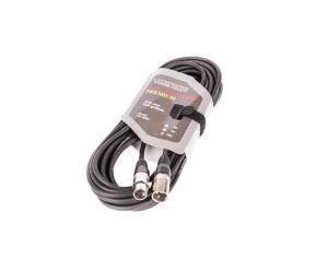 Kabel XLR M - XLR F black...