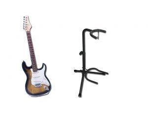 Gitara Elektryczna 3901 + Statyw pod Gitare