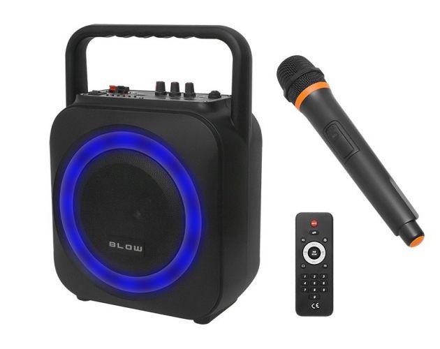Zestaw Karaoke Głośnik + Mikrofon USB BT Pilot
