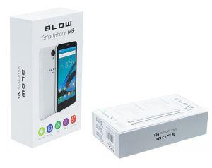 Smartfon Blow M5 ekran 5 Cali Dual Sim + MicroSD slot