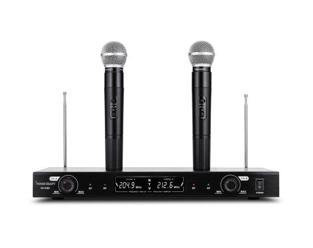 Mikrofony Bezprzewodowe Voice Kraft VK-380