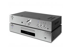 Zestaw HI FI Wzmacniacz + Odtwarzacz CD z USB
