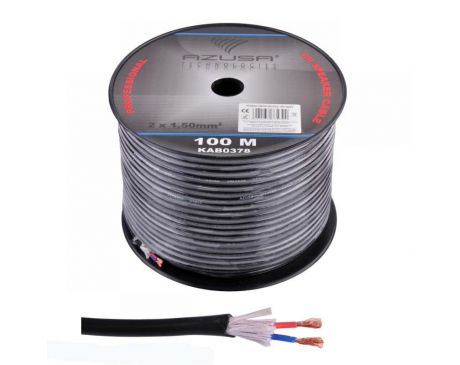 Kabel Głośnikowy okrągły 2x1,5mm