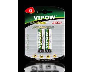 Baterie Alkaliczne VIPOW LR6 2szt / blister