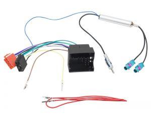 Samochodowe Złącze VW Skoda - ISO + separator 2xFakra-DIN