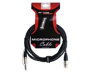 Kabel mikrofonowy XLR - Jack 6,3mm DMXJ210L3