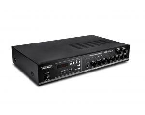 Wzmacniacz ABS-802U 80W Radiowęzłowy DwuStrefowy