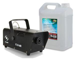 Wytwornica Dymu Flash FLM-600 + Baniak Płynu