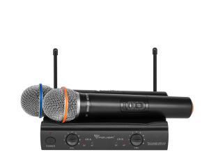 Mikrofon bezprzewodowy Azusa 2 kanały UHF U3000