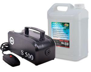 Wytwornica Dymu S500 + Baniak płynu 5l