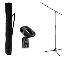 Statyw mikrofonowy MIC-5C + uchwyt + pokrowiec