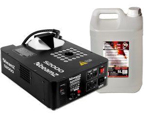 Wytwornica Wyrzutu Pionowego Beamz S2000 + Płyn CO2