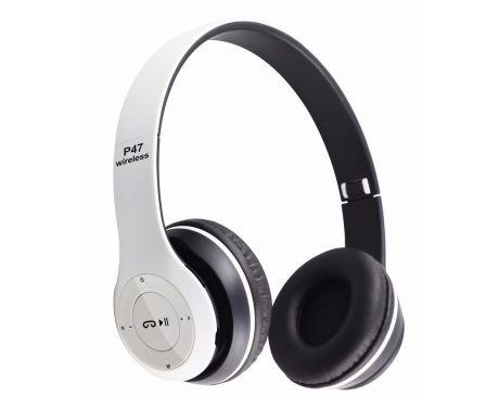 Słuchawki Bluetooth bezprzewodowe ,radio FM microSD