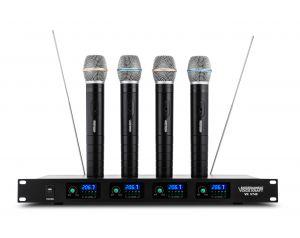 Zestaw 4 mikrofonów Bezprzewodowych Voice Kraft VK 740