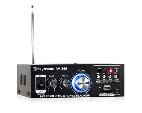 Wzmacniacz Skytronic AV-360 Stereo
