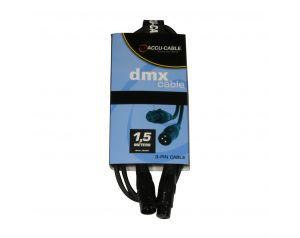 Kabel DMX XLR M - XLR F 0,5m