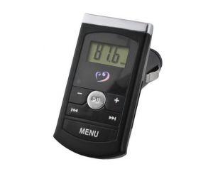Transmiter FM LCD czarny...