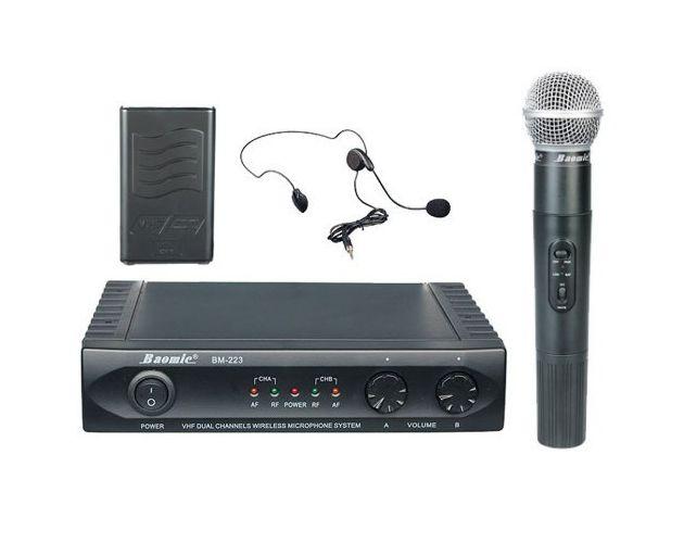 Mikrofony Bezprzewodowe BM-223RN