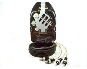 Hollywood PRO-425 - kabel sygnałowy audio 5m 4-Kanałowy