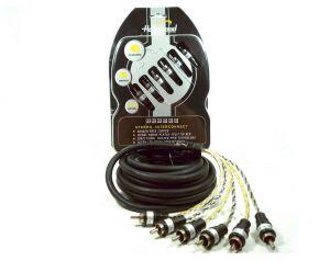 Hollywood PRO-625 - kabel sygnałowy audio 5m 6-Kanałowy