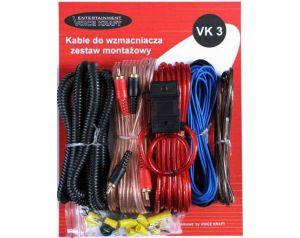 Zestaw Kabli Montażowych Voice Kraft VK3