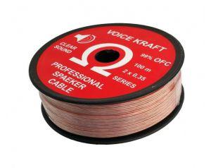Kabel Głośnikowy 2x0,35mm...