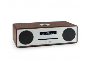 Auna Stanford Radio DAB CD DAB+ Bluetoth USB MP3 AUX UKF orzech