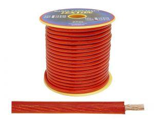 Kabel zasilający 12GA/4.5mm CCA, 5m czarny