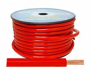 Kabel zasilający 4GA/10mm CCA, 5m czarny