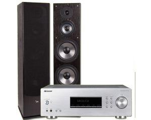 Amplituner Pioneer SX-20-K + Kolumny Stereo VK6300