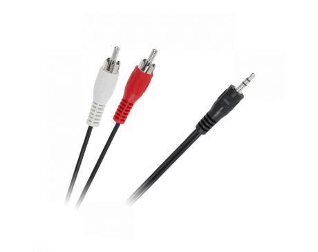 Kabel JACK 3,5mm - 2 RCA 1,2m