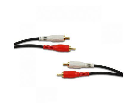Kabel 2 RCA - 2 RCA 5m